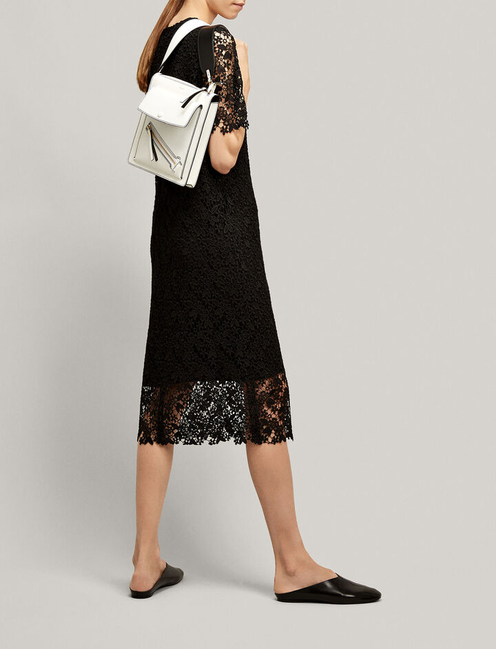 Joseph, Ellis Crochet Lace Dress, in BLACK