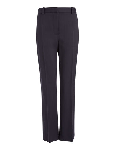 Stretch Wool Zoom Trousers, in NAVY, large | on Joseph