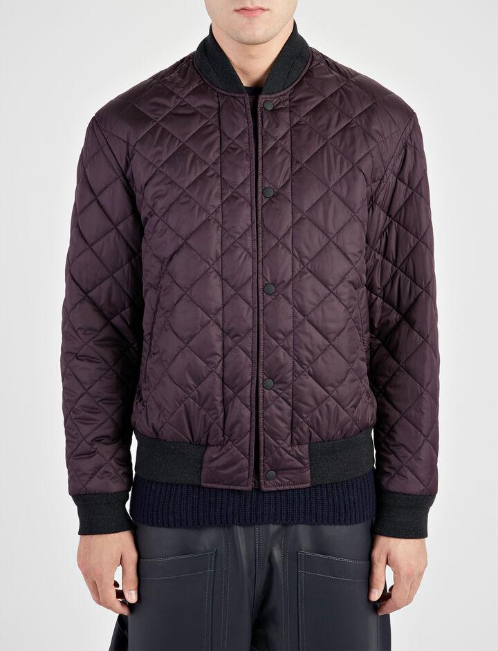 Nylon Midford Coat, in BURGUNDY, large | on Joseph