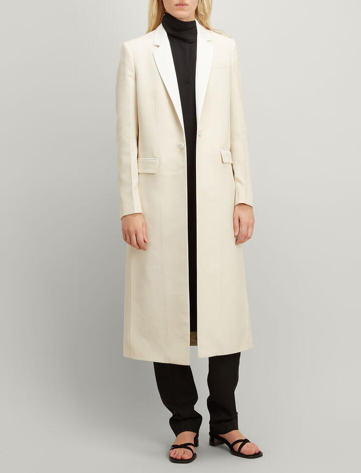 Joseph, Grain de Poudre Jan Coat, in ECRU