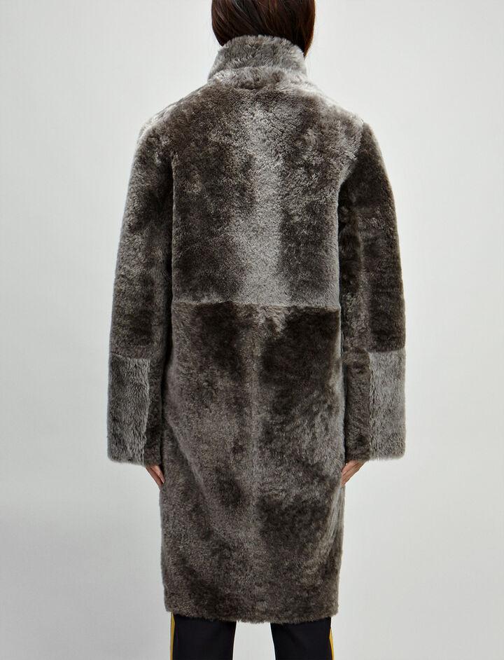 Polar Skin Brittany Sheepskin, in MILITARY, large | on Joseph