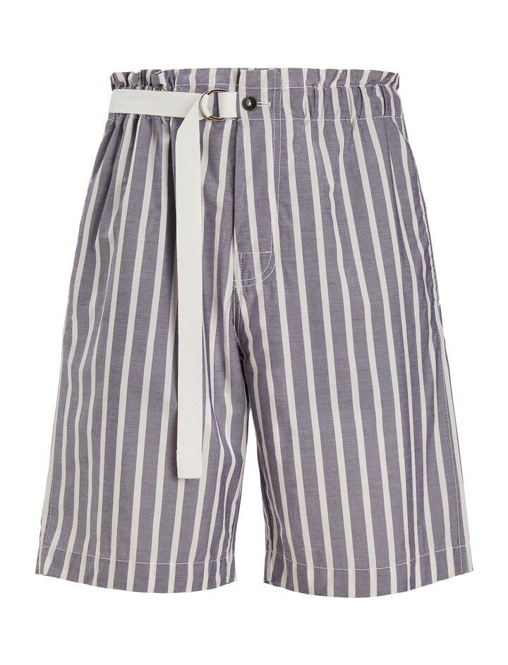 Joseph, Henley Stripe Luis Trousers, in NAVY