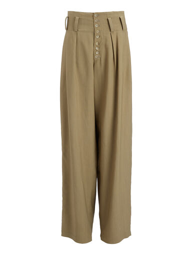 Technical Drape Howard Trousers, in SAND, large | on Joseph