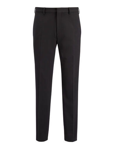 Techno Wool Stretch Jack Suiting Trousers, in Black, large | on Joseph