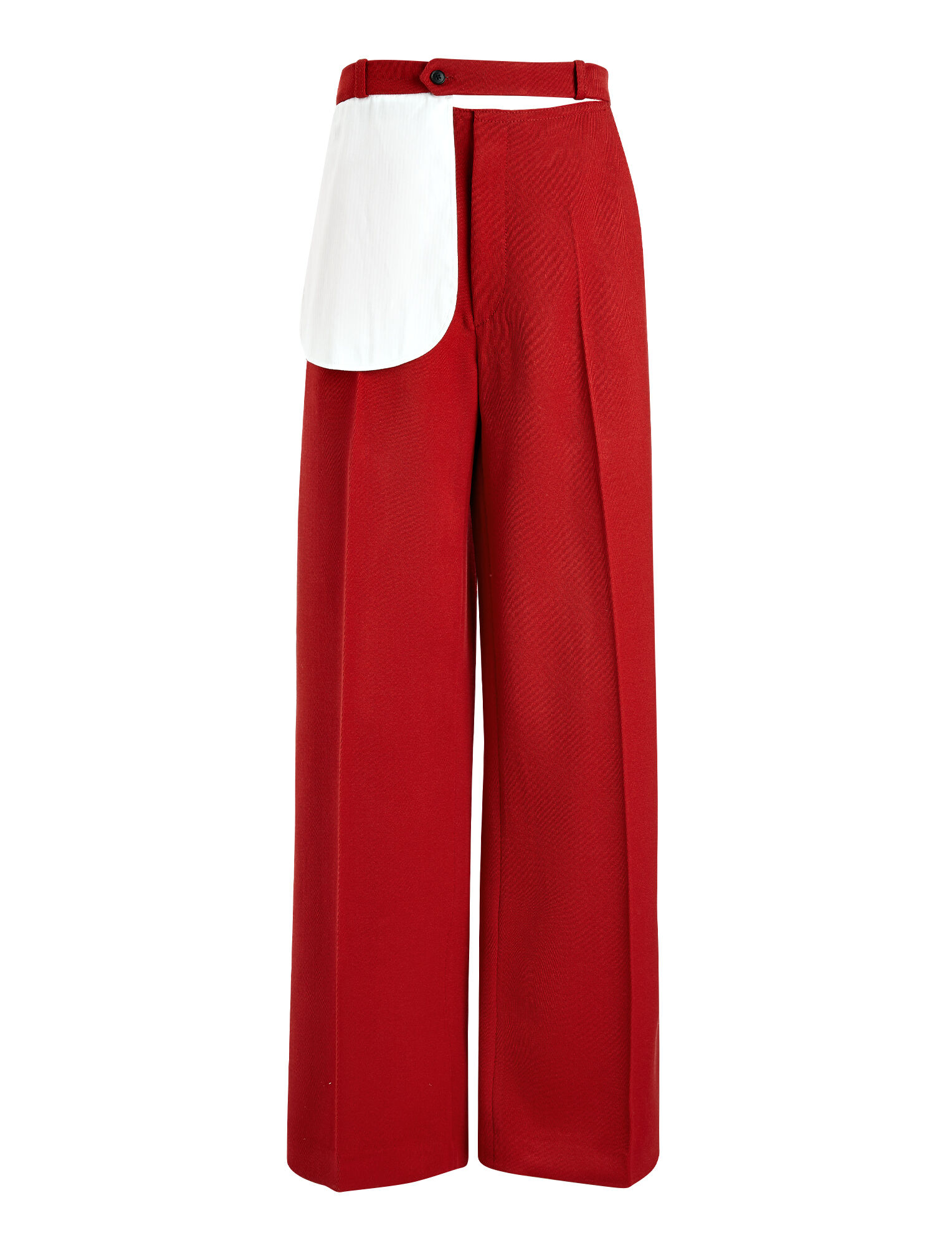 Cavalry Twill Alta Trousers, in LIPSTICK, large | on Joseph