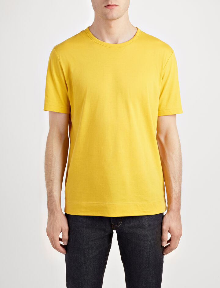 Mercerized Jersey Tee, in YOLK, large | on Joseph