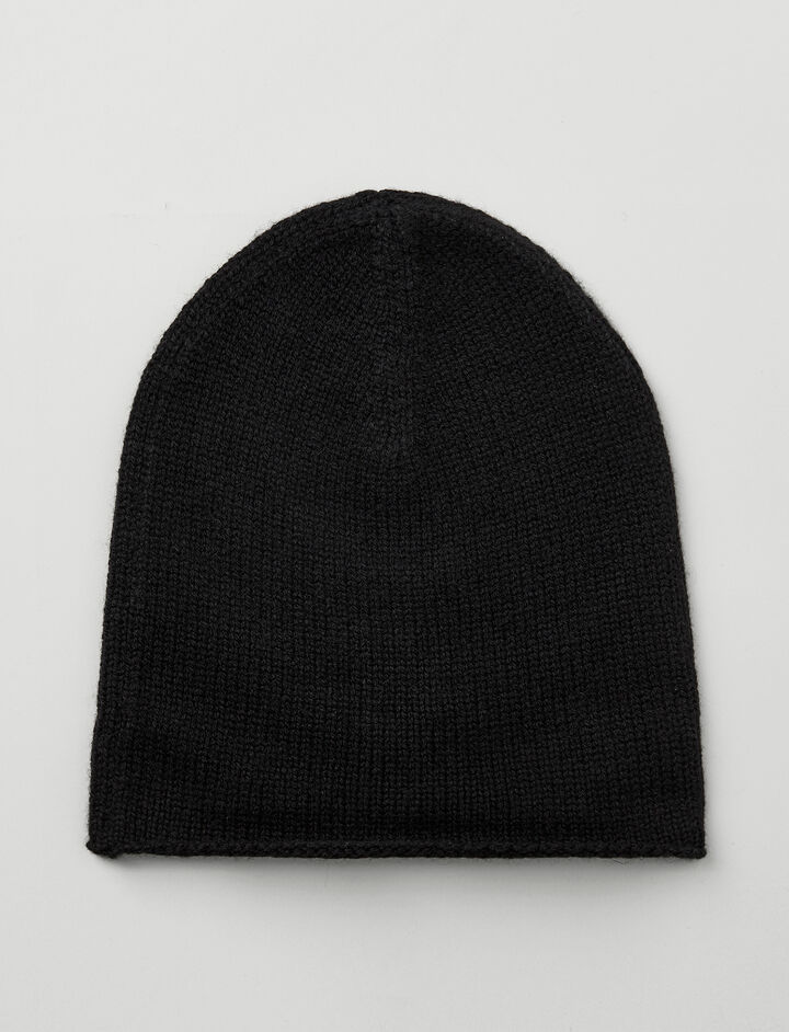 Joseph, Mongolian Cashmere Hat, in BLACK
