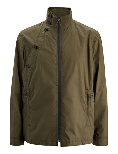 Veste Carlton en coton parachute, in KHAKI, large | on Joseph
