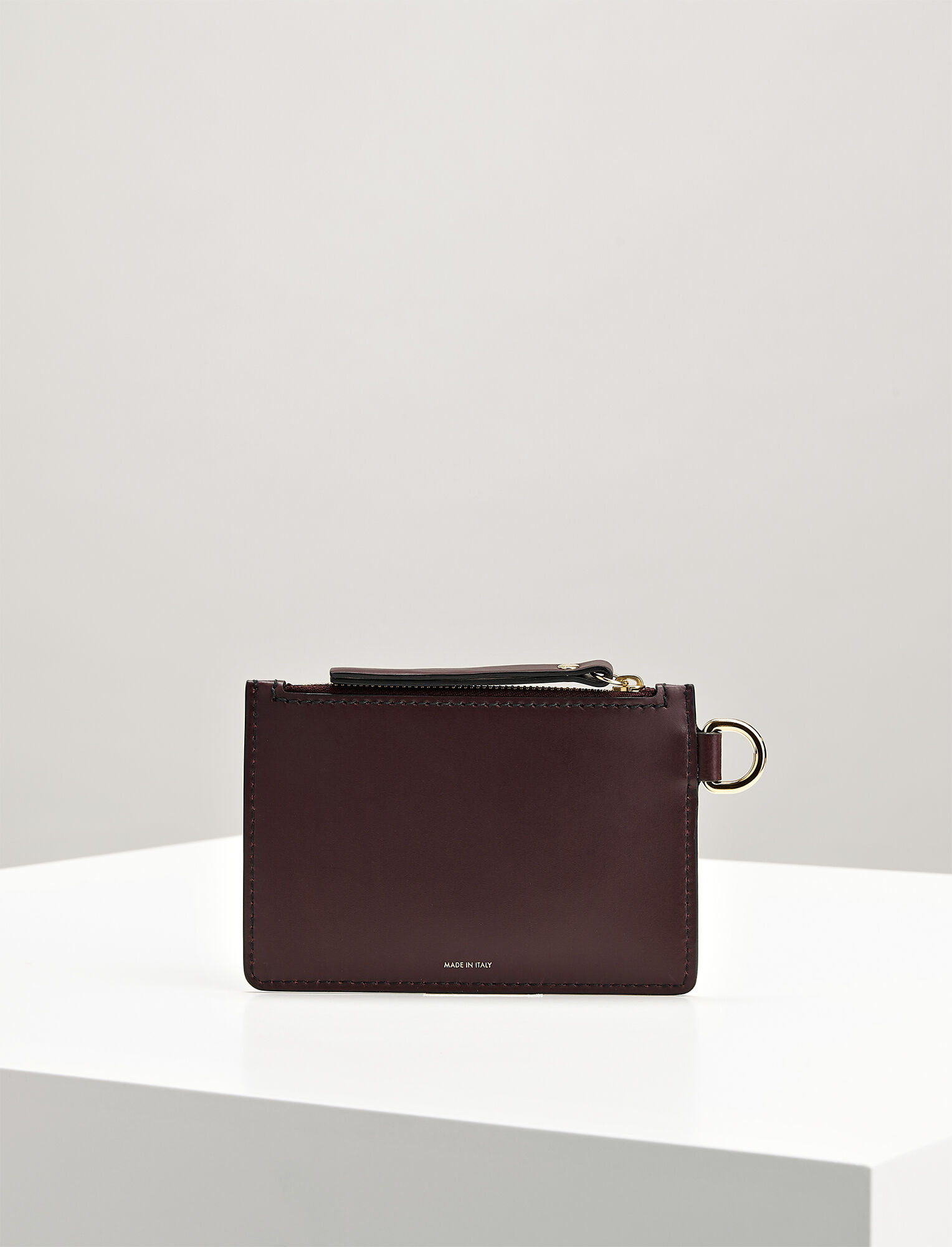 Calf Leather Coin Purse, in MORGON, large | on Joseph