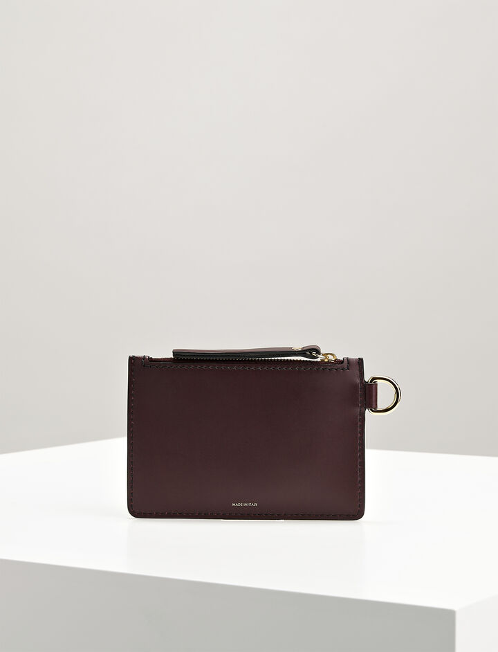 Calf Leather Pouch, in MORGON, large | on Joseph