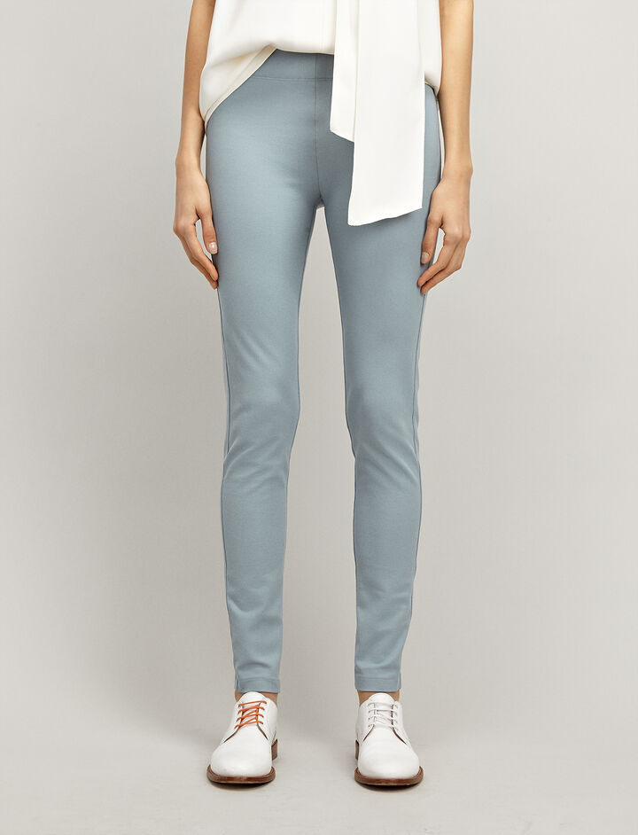 Joseph, Gabardine Stretch Leggings, in ETON