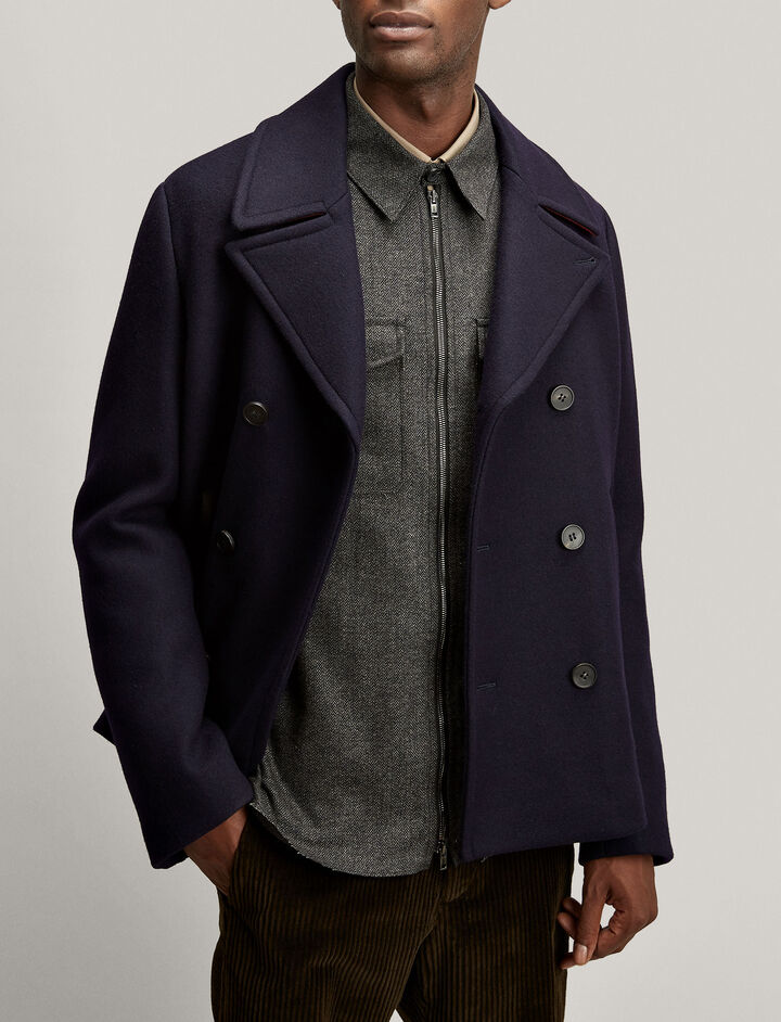 Joseph, Alphonse Caban Peacoat, in NAVY