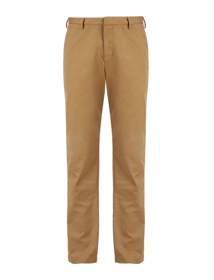 Joseph, Twill Chino California Trousers, in CAMEL