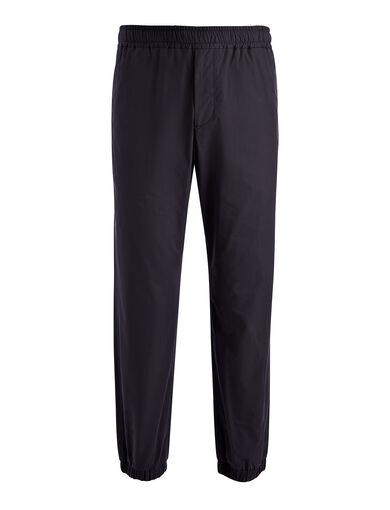 Light Cotton Epping Trouser, in NAVY, large | on Joseph