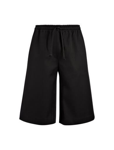 Short Boxer en coton compac, in BLACK, large | on Joseph