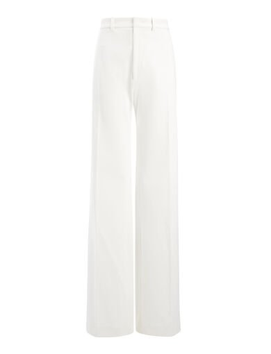 Gabardine Stretch Ferguson Trouser, in OFF WHITE, large | on Joseph