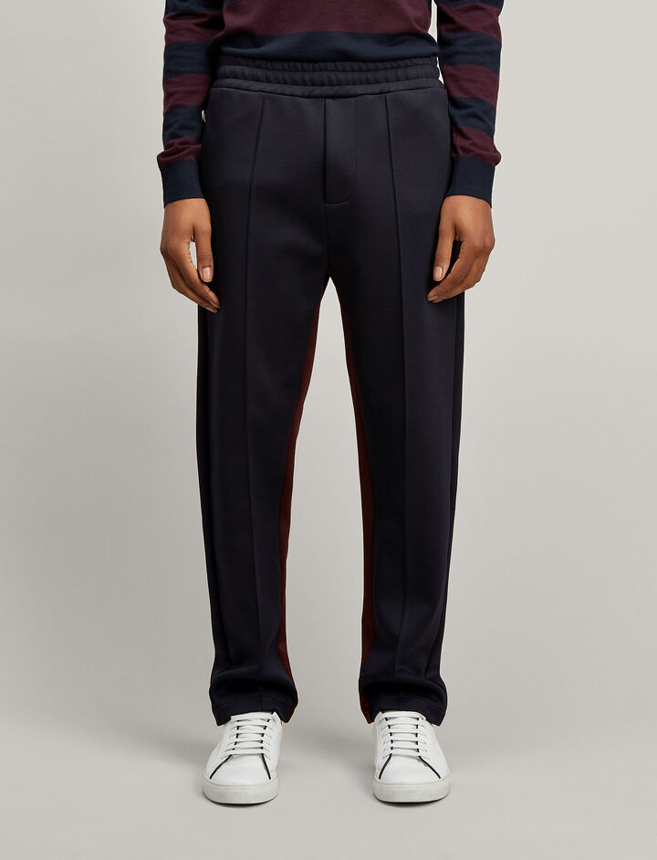 Scuba Trackpants, in NAVY, large | on Joseph