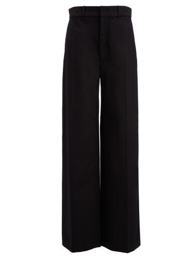 Royal Cotton Ferrandi Trousers, in BLACK, large | on Joseph