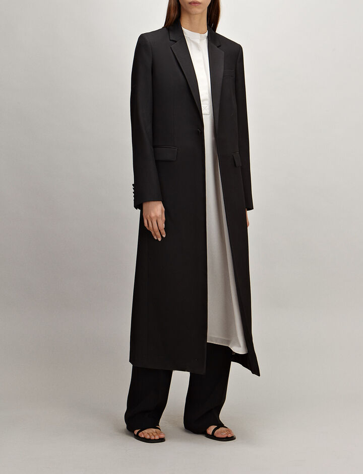Joseph, Grain de Poudre Jan Coat, in BLACK