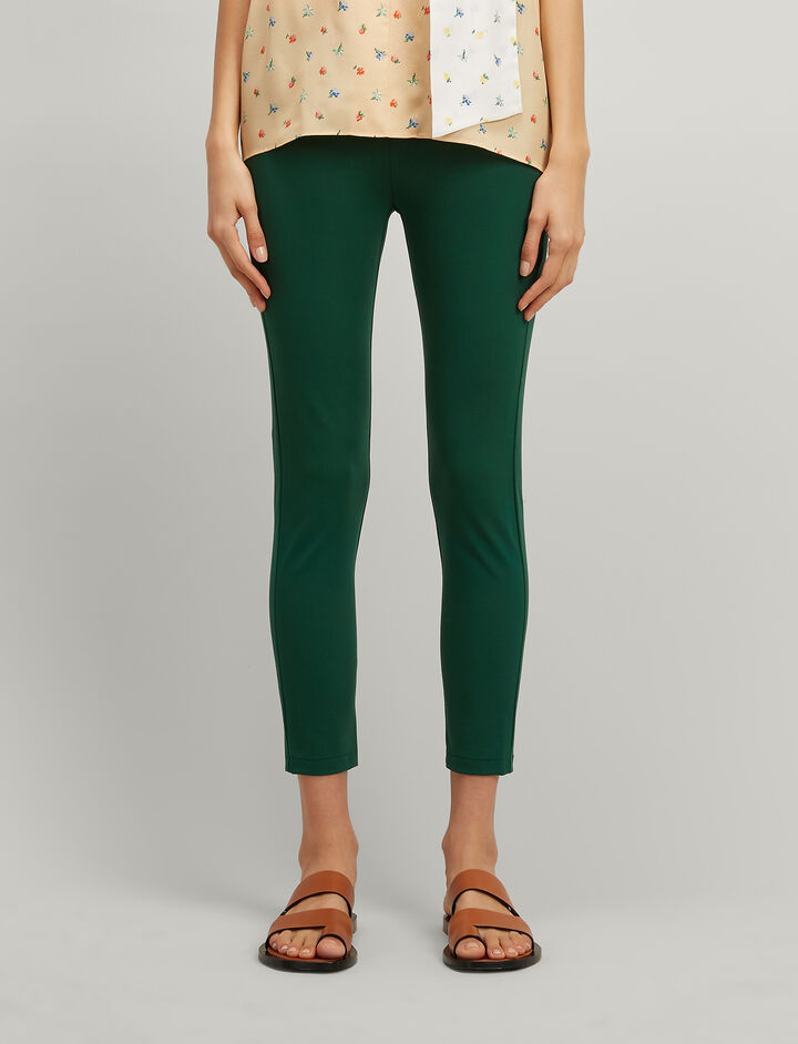 Joseph, Drill Stretch Nitro Trousers, in EMERALD