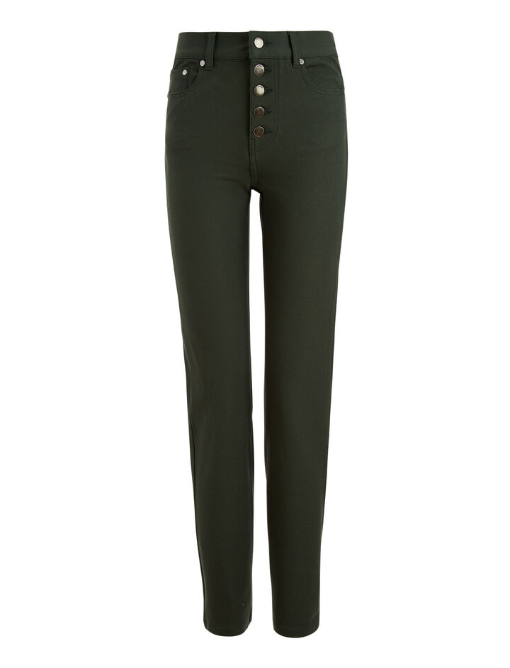 Joseph, Den Gabardine Stretch Trousers, in BERMUDA