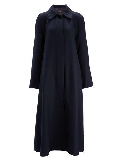 Uniform Twill Mercer Coat, in NAVY, large | on Joseph