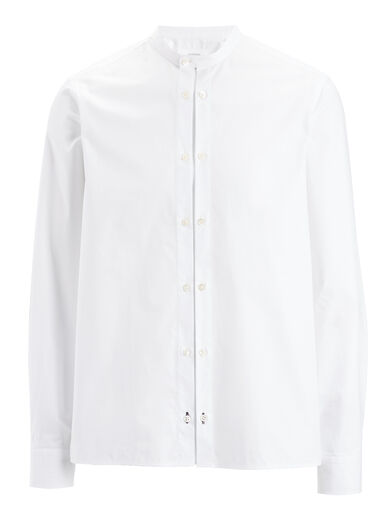 Chemise Blanche Dale Shirt, in WHITE, large | on Joseph
