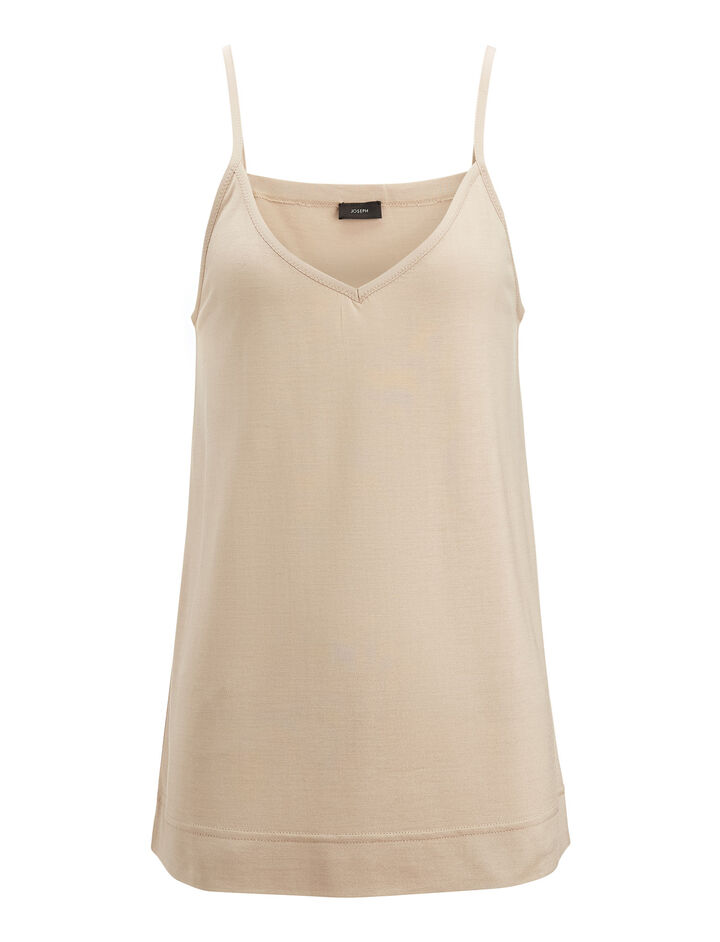 Joseph, Camisole Silk Jersey, in MARBLE