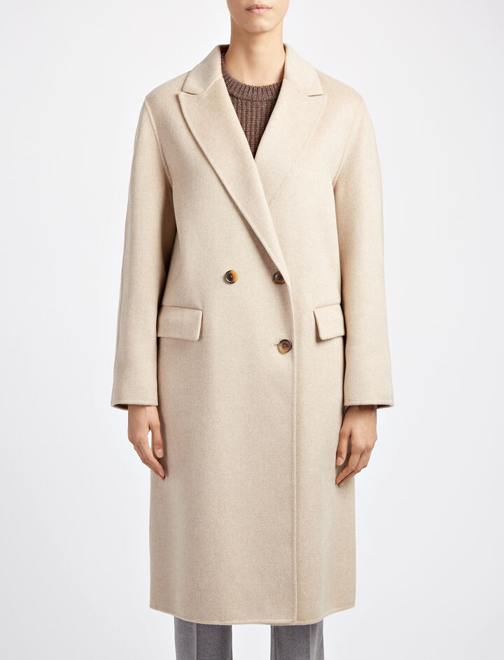 Joseph, Pure Cashmere Kino Coat, in SAND