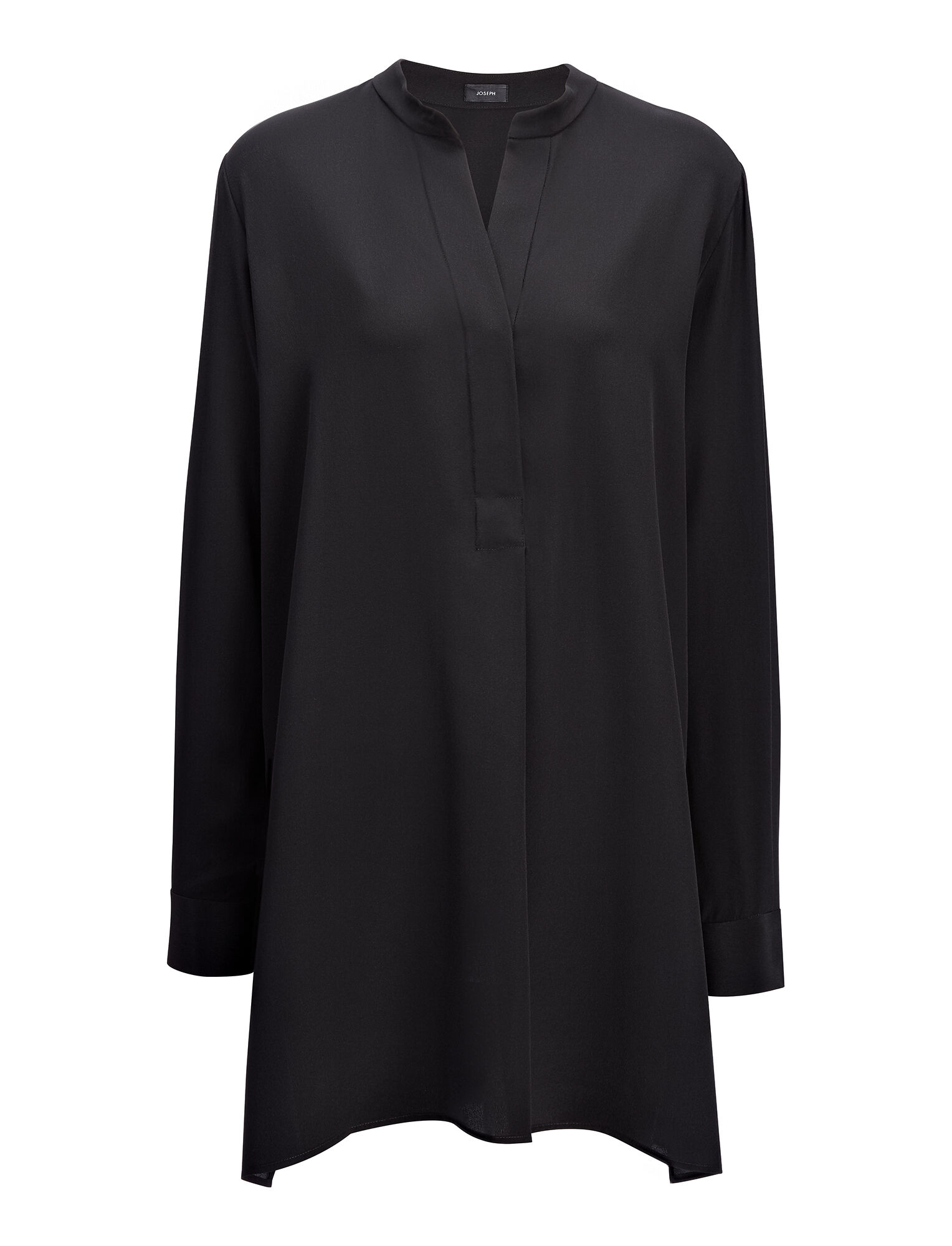 Joseph, Crepe de Chine New Dara Blouse, in BLACK
