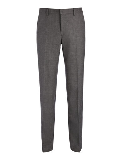 Pantalon de costume Darwin en laine tropicale, in GREY, large | on Joseph