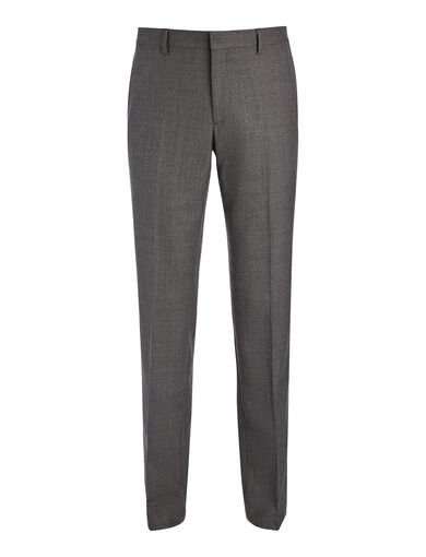Tropical Wool Darwin Suit Trouser, in GREY, large | on Joseph