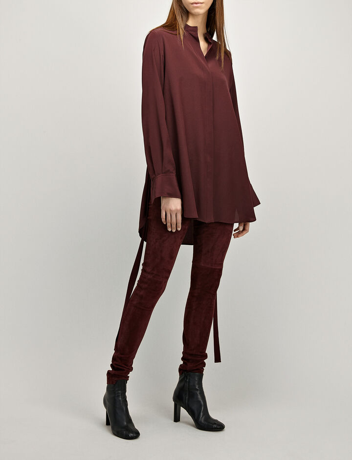 Joseph, Crepe de Chine Carla Blouse, in MORGON