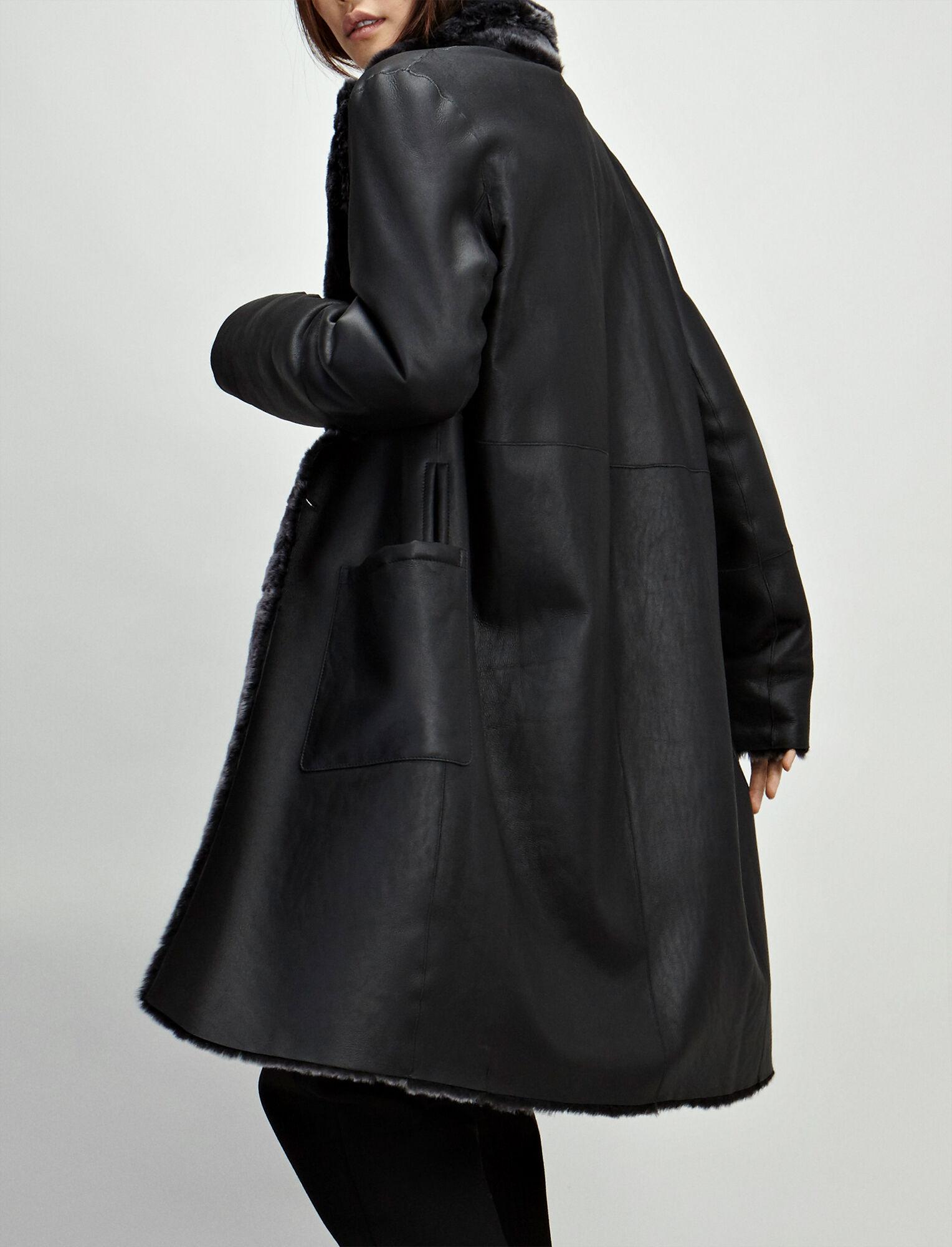Joseph, Polar Skin Brittany Sheepskin, in BLACK