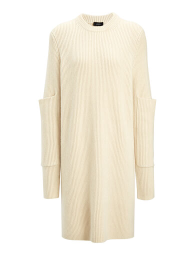 Cashmere Luxe Tunic, in ECRU, large | on Joseph
