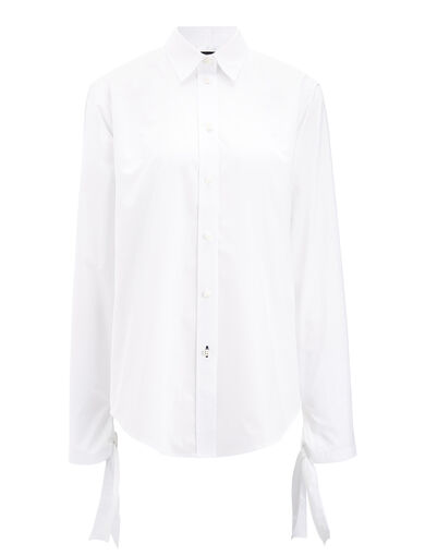 Blouse Thomas chemise blanche , in WHITE, large | on Joseph