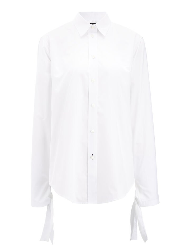 Blouse Thomas chemise blanche, in WHITE, large | on Joseph