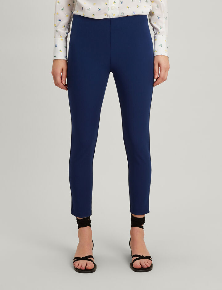Drill Stretch Nitro Trousers, in COBALT BLUE, large | on Joseph