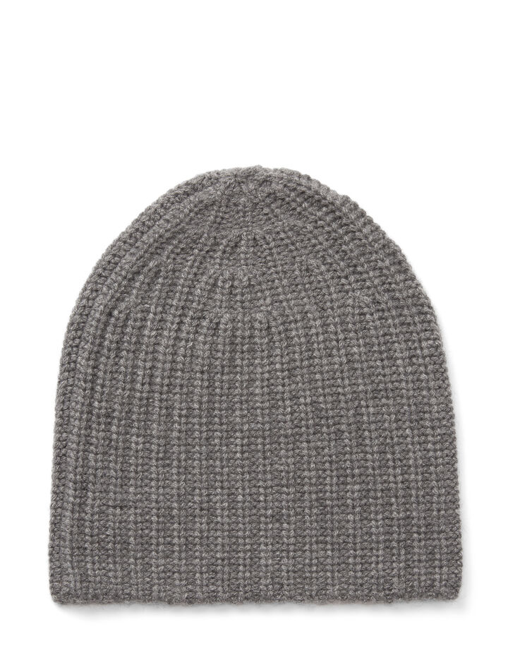 Joseph, Cardigan Cashmere Hat, in GRAPHITE