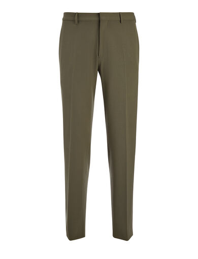 Techno Wool Stretch Jack Trouser, in KHAKI, large | on Joseph