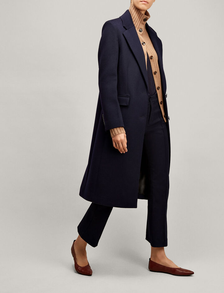 Joseph, Magnus Tailored Coat, in NAVY