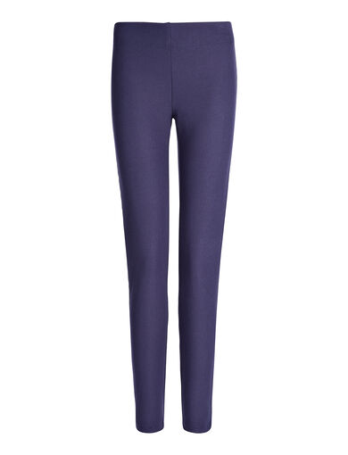 Gabardine Stretch Legging, in MARINE, large | on Joseph