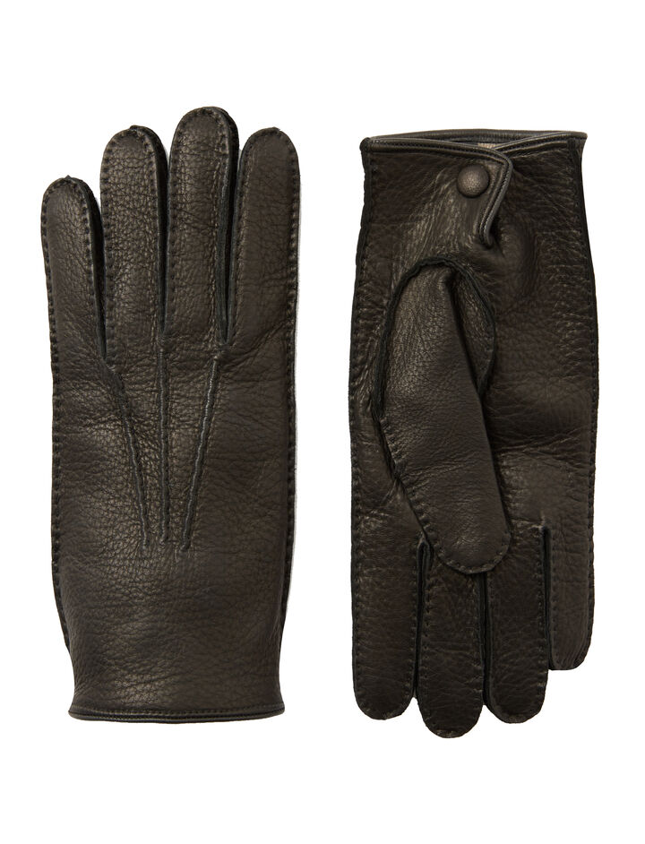Cervo Gloves, in BLACK, large | on Joseph