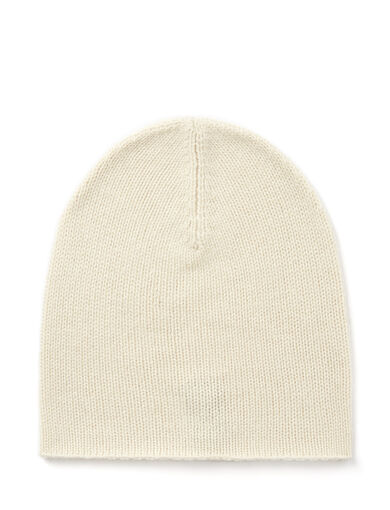Mongolian Cashmere Hat, in ECRU, large | on Joseph