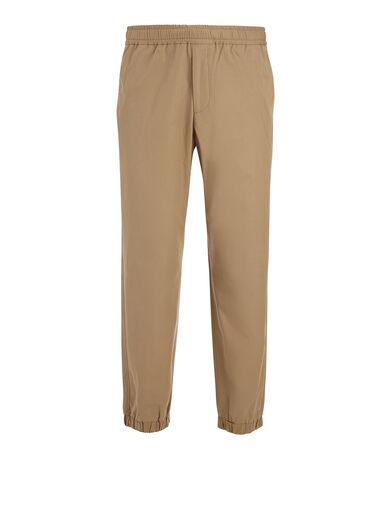Pantalon Epping en coton léger, in CLAY, large | on Joseph