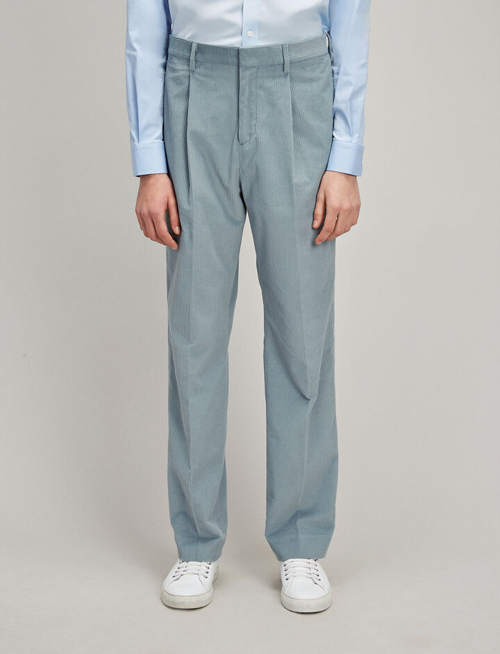 Corduroy Colton Trousers, in ETON, large | on Joseph