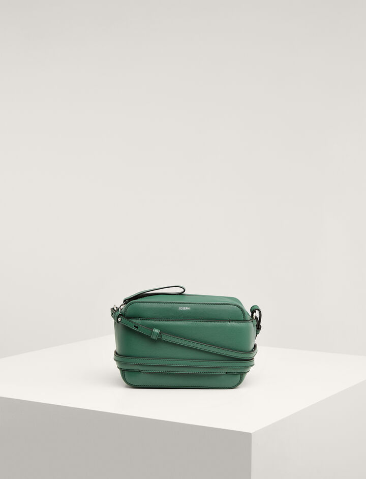 Joseph, Leather Honore Bag , in EMERALD