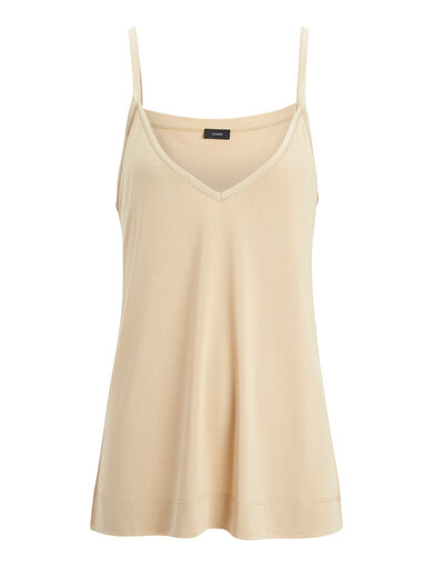 Silk Jersey Camisole, in STOCKING, large   on Joseph