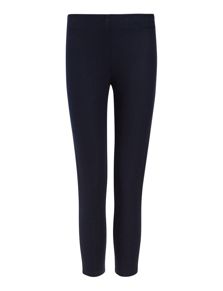 Gabardine stretch Nitro Trousers, in NAVY, large | on Joseph