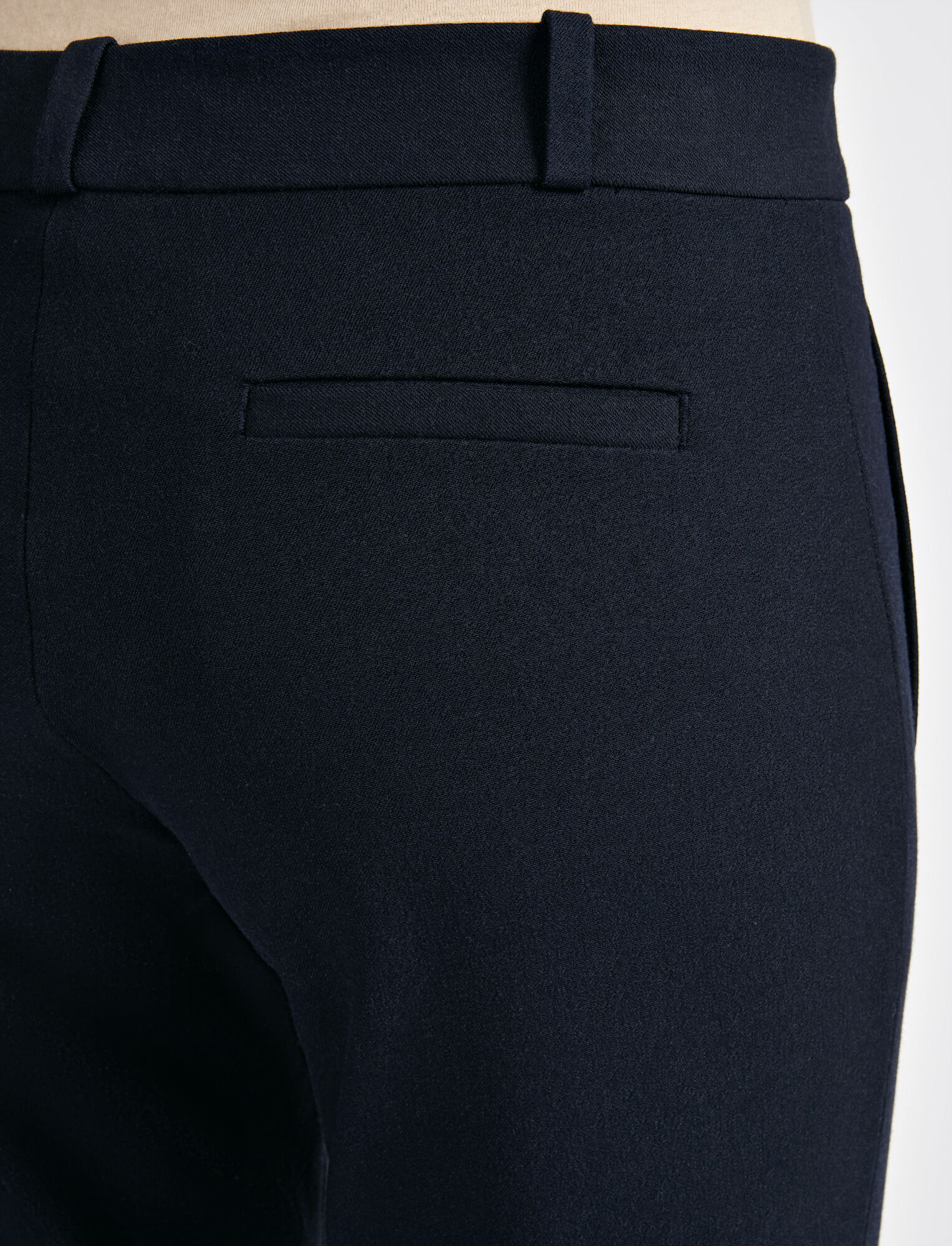 Joseph, Gabardine Stretch New Eliston Trouser, in NAVY